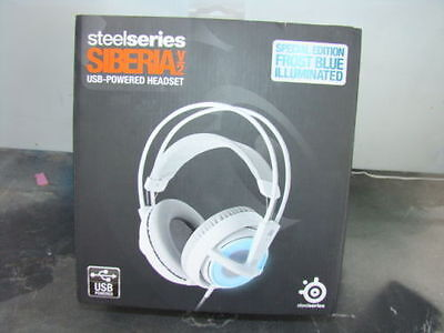 SteelSeries Siberia V2 Full-Size Gaming Headset Special Edition Frost