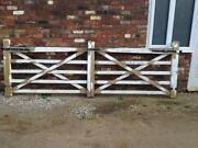 Wooden Field Gate