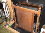 Wooden Fire Screen
