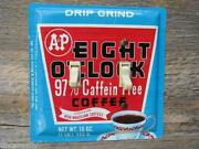 A&P Coffee Tin