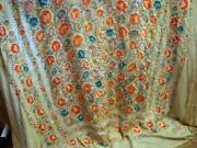 Antique Embroidered Shawl