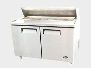 "48"" sandwich prep table - brand new - special clearance -"