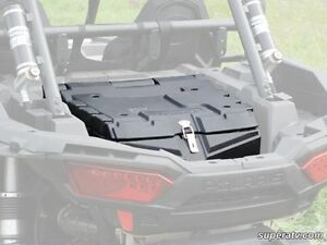 Polaris RZR XP 1000 Rear Cargo Box - ATV TIRE RACK - Super ATV