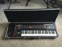 Vintage Roland Juno 60 Synth With Case