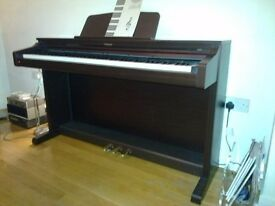 Technics SX-PX224 Digital Piano in Mahogany colour top specs and great Steinway sound FREE DELIVERY