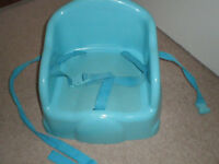 Plastic booster seat portable feeding chair