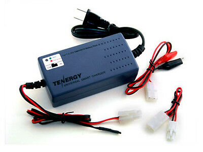 Tenergy Smart Universal Charger for NiMH/NiCd Battery Packs 7.2V-12V (UL)