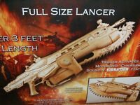 Gears of War 2 - Gold / Golden Limited Edition Lancer (Brand New, Sealed)