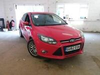 BAD CREDIT FINACE AVAILABLE Ford Focus 1.0 SCTi 100ps EcoBoost 2012.75MY Zetec