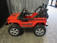 CHILDREN'S RIDE ON JEEP - REMOTE CONTROL - SELF DRIVE - BRAND NEW!!! -ONLY £110