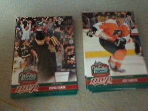 2009/10 upper deck mvp winter classic 12 card lot w duplicates