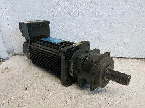 Used Gould M33y-ymry-y00y-1p Servo Motor & Alpha Sp140-m1-3 Gear Head Ea