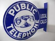 Old Telephone Sign