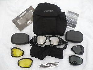 British Military Issue ESS Advanced Goggles System With 3 Lenses, grade 1