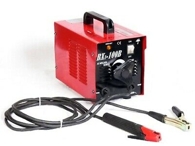 Arc Welder 110v Ultra Portable 100 Amp Electric Welding Machine Cables Soldering