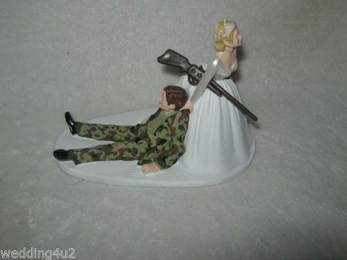 redneck deer fishing hunting wedding cake toppers cake toppers ebay 19131
