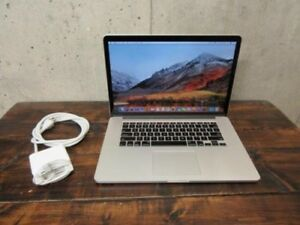 "Mid 2015 MacBook Pro 15.4"" Retina 2.8ghz,512gb+2 year warranty"
