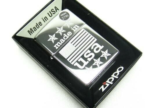 Zippo 29430 Full Size High Polish Chrome Made In USA Windproof Lighter