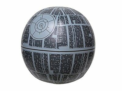Star Wars Beach Ball Pool Party Light Up Death Star 14 inch Inflatable Pool Sea