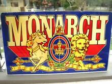 Vintage  Sign MONARCH by Artistocrat 1988 Perspex Bronte Eastern Suburbs Preview