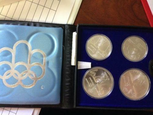 1976 Olympic Coin Set Ebay