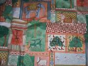 Elephant Curtain Fabric