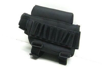 VOODOO TACTICAL Black Buttstock CHEEK Rest Piece w/ Ammo Carrier! 20-942101000