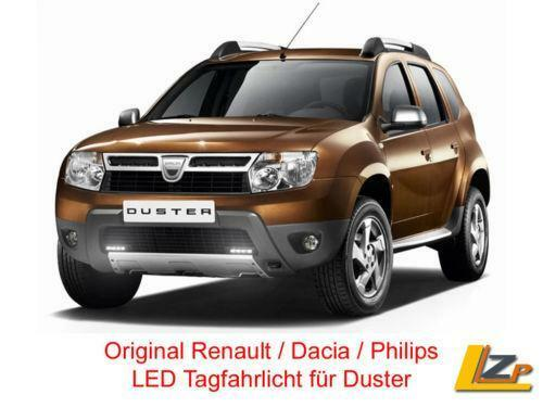 dacia duster tagfahrlicht auto motorrad teile ebay. Black Bedroom Furniture Sets. Home Design Ideas