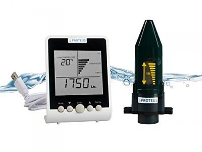 Cistern Water Tank Level Gauge Ecometer S Wireless Ultrasonic Sensor Monitor