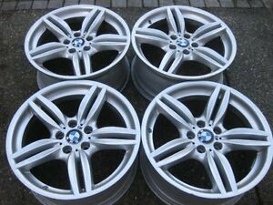 """Set of Genuine Factory BMW 19"""" M Wheels Style 351 in exc cond"""
