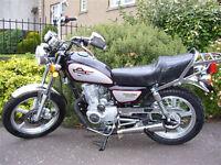 125cc motorbike, £375 ono, Huoniao 125-8, 10 mths mot