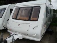 Elddis 540 2005 fixed bed with mover and lots of extra's