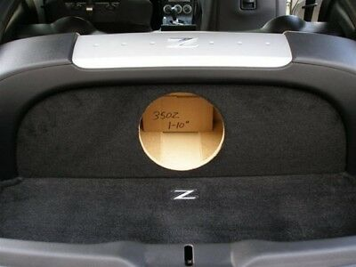 Sub Box for Nissan 350z 1-10