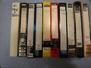 Recorded VHS Tapes