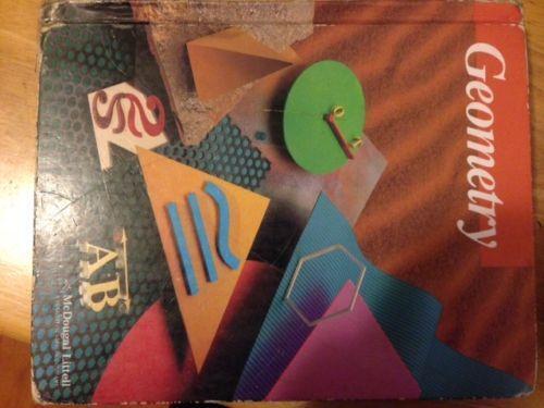 Mcdougal littell geometry books ebay fandeluxe Images