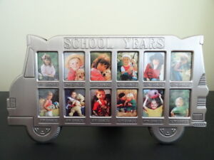 Brand New School Bus School Years Photo Frame