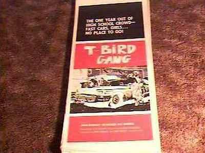 T BIRD GANG 14X36 POSTER 1959 THUNDERBIRD EXPLOITATION