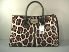 Suede Animal Print Tote Bags & Handbags for Women