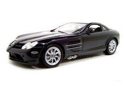 MERCEDES MCLAREN SLR BLACK 1:12 DIECAST MODEL CAR BY MOTORMAX  73004
