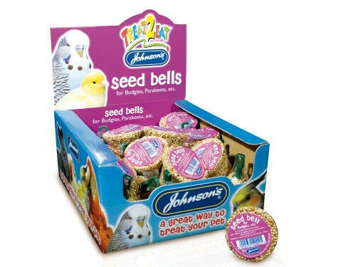 JOHNSON'S SEED BELL TREATS Budgies