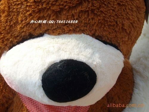 "Teddy Bear only cover Giant Sleepy case no PP cotton Stuffed Toy dolls 63/"" 160cm"