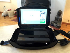 "gaems vanguard 19"" gaming TV suitcase"