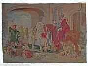 Antique Hunting Tapestry