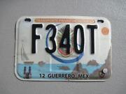 Mexico License Plate