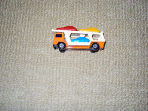 1976, MATCHBOX, CAR TRANSPORTER, LESNEY SUPERFAST, NO 11 DIECAST