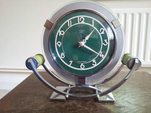 Art Deco Mantel Clock Ebay