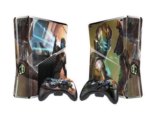 Xbox 360 Slim Skin Halo Ebay
