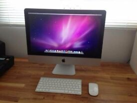 Apple iMac 21.5 Inch i5 2.5Ghz 16GB 128GB Solid State Hard Drive Latest OS Excellent Condition