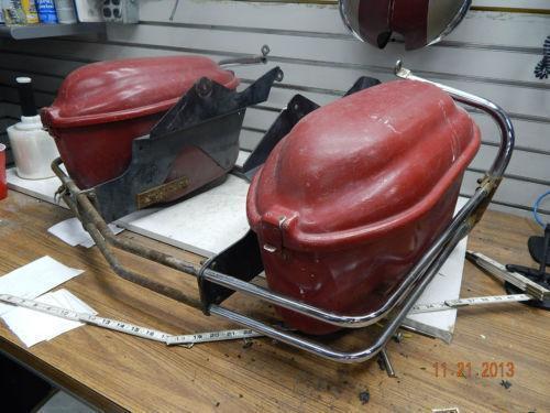 Bates Saddlebags Ebay