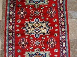 Awesome Red Shirvan Kuba Kazak Fine Veg Dyed Hand Knotted Area Rug Wool Carpet (5 x 3)'